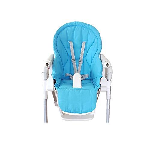 Aveanit Funda de repuesto para silla de bebé, Peg Perego Prima Pappa Zero 3 100% algodón, color azul claro