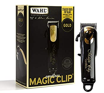 Wahl Professional 5 Star Limited Edition Gold Cordless Magic Clip #8148 Black 1 Count