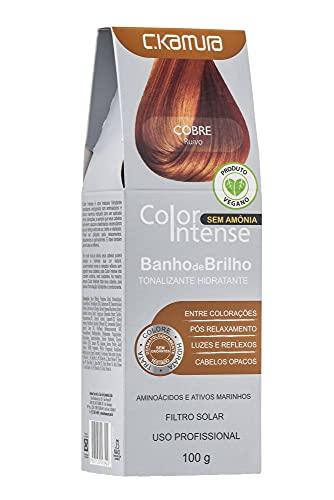 Tonalizante Hidratante Banho de Brilho Cobre, C.Kamura, 100 Ml