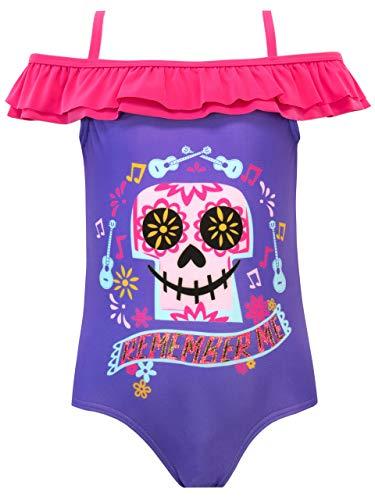 Preisvergleich Produktbild Disney Mädchen Coco Badeanzug Violett 116 cm