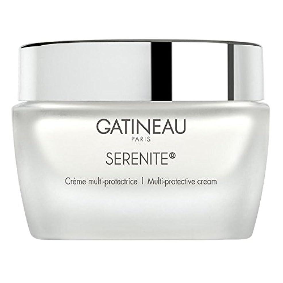 正確に白い法王ガティノーマルチ保護クリーム50 x4 - Gatineau Multi Protective Cream 50ml (Pack of 4) [並行輸入品]