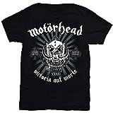 Motorhead Victoria Aut Morte Camiseta, Negro, XXL para Hombre