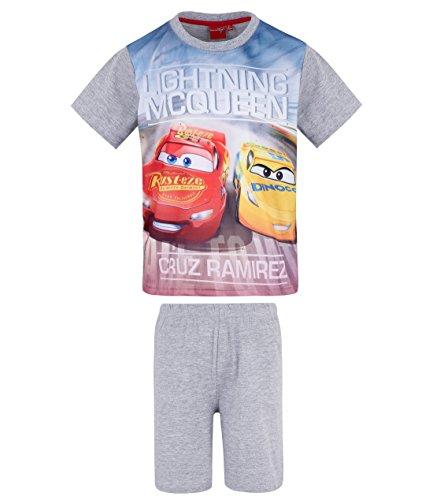 Disney Cars Jungen Shorty-Pyjama - grau - 110