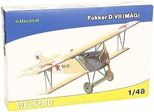 Eduard Fokker D VII (MAG) Biplane Fighter (Weekend Edition Plastic Kit) 1/48