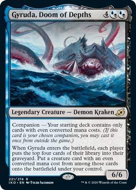 Magic: The Gathering - Gyruda, Doom of Depths - Ikoria: Lair of Behemoths