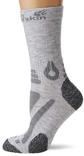 Jack Wolfskin Unisex Hiking Pro Classic Cut Chaussettes Socken, (Light Grey), (Herstellergröße: 34-36)