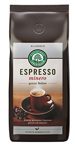 Lebensbaum Espresso Minero, Bohne, 1er Pack (1 x 1 kg)