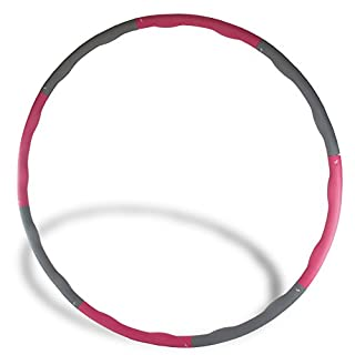 The Friendly Swede 2.65 lbs Weighted Core Toning Fitness Exercise Hula Hoop