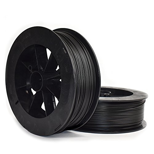 Ninjatek 3dch01129020Ninjatek Cheetah TPU Filament, 3.00mm, TPE, 10655CC, Midnight (Noir) (lot de 1)