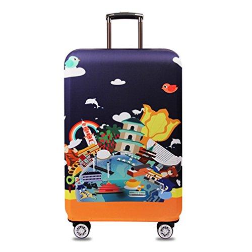 YianBestja Elástico Funda Protectora de Maleta Luggage Protective Cover Cabe 18-32...