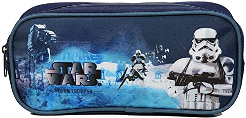 Star Wars etui junior 23 x 5 x 10 cm polyester blauw