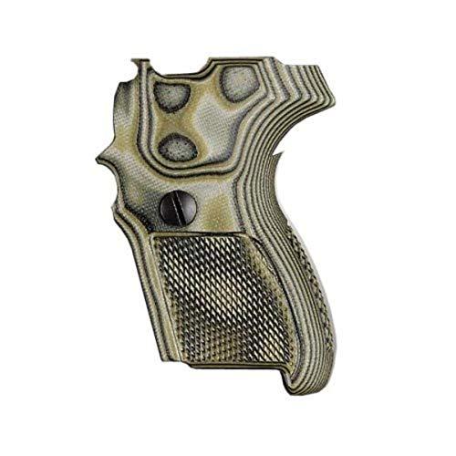 Hogue 22178 Sig P224 Da/SA Grips, Checkered G10 G-Mascus Green
