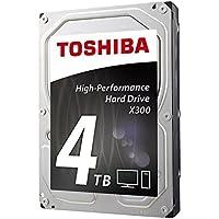 Toshiba X300 4TB 4000GB Serial ATA III - Disco Duro (Serial ATA III, Unidad de Disco Duro)