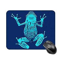 カエルマウスパッド ゲーミング オフィス最適 高級感 おしゃれ耐久性が良 付着力が強い20x25x0.3cm