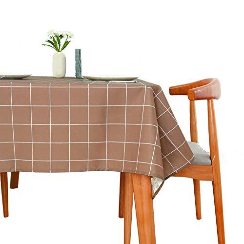 BXY Mantel Limpio con un paño, Hule Impermeable, Mantel de PVC, Mantel...