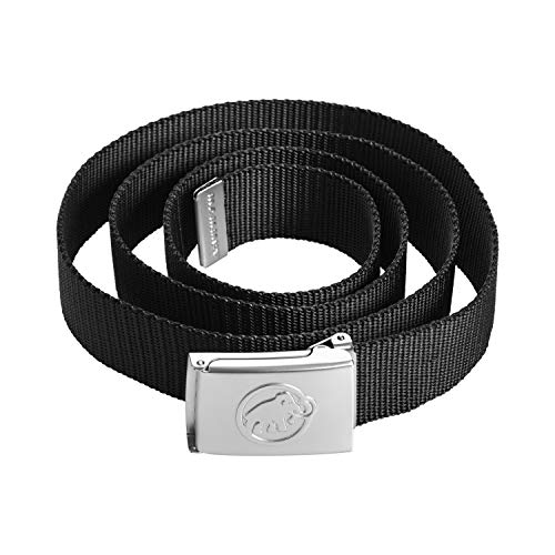 Mammut Gürtel Logo Belt,schwarz,Einheitsgröße