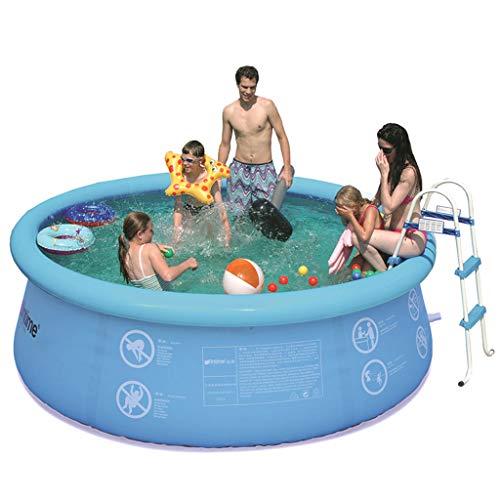 Aufblasbarer Pool, Kleinkinderpool, Kinder, Familie, Oberirdisch, Hinterhof, Übergroßer Oberirdischer Außenpool Verdicken