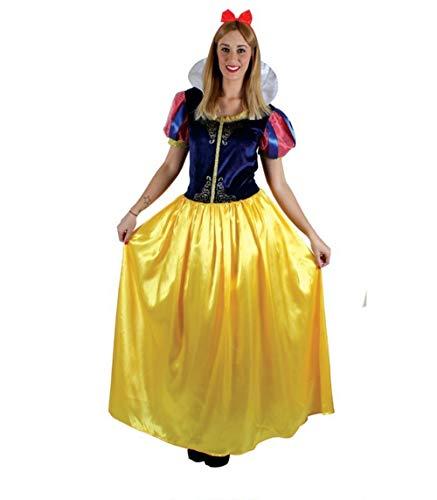 Disfraz de Blancanieves Princesa de Cuento Disney para Mujer (PZ9034, L)