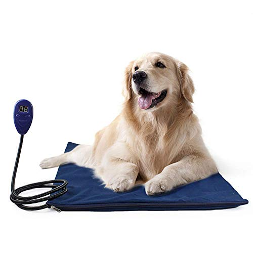 ZXLA Pet Heating Pad, Heating Pad Warmer Electric Pet Kitten/Puppy Large Heater Mattress Waterproof Anti-Grab Constant Temperature Heating Suitable for all kinds of pets