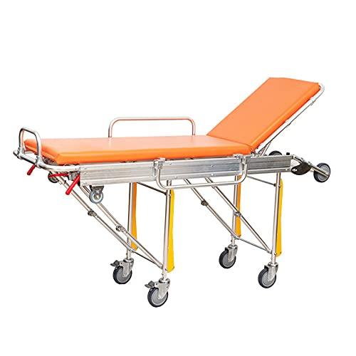 JHKGY Abnehmbare Rettungstrage,Rettungssanitäter Für Rettungssanitäter Für Rettungssanitäter,Aluminium Klappbahre Krankenwagen Krankentrage Bett,Für Krankenwagen Im Krankenhaus