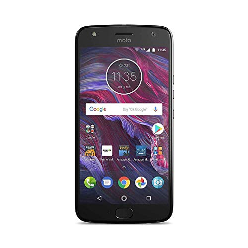 Moto X (4th Generation) with Alexa Hands-Free – 32 GB - Unlocked – Super Black - Prime Exclusive