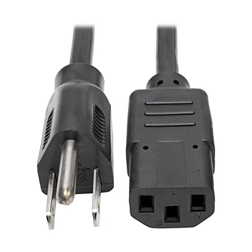Tripp Lite P006-003 Cable de Alimentación, Estándar para Computadora, 10A, 18AWG, (5-15P a C13) 0.91m