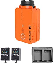 RunCam 2 4K Edition FPV Action Camera + 2 Spare Rechargeable Batteries + 1 Dual Battery Charger