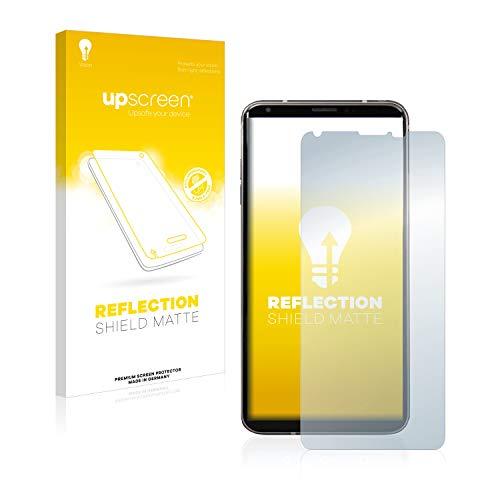 upscreen Entspiegelungs-Schutzfolie kompatibel mit LG V35 ThinQ – Anti-Reflex Bildschirmschutz-Folie Matt
