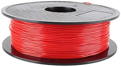 XHCP Imprimante Filament TPU, matériaux d'impression 3D Rouge 1.75mm Profession Graffiti Stylo Fournitures d'impression Art modèle Bricolage