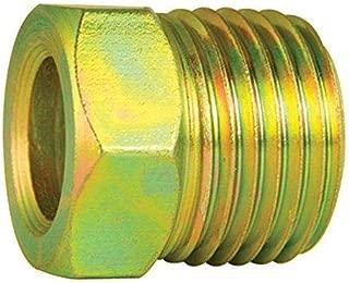 4LIFETIMELINES Steel Tube Nut, 3/8 (5/8-18 Inverted), 10/bag