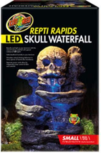 Zoo Med Repti Rapids Led Waterfall Skull