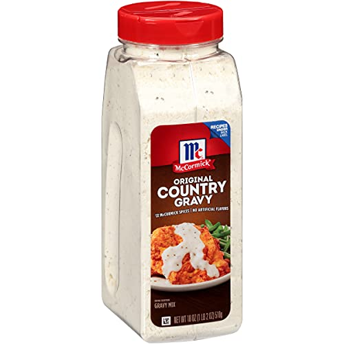 McCormick Original Country Gravy Mix, 18 oz