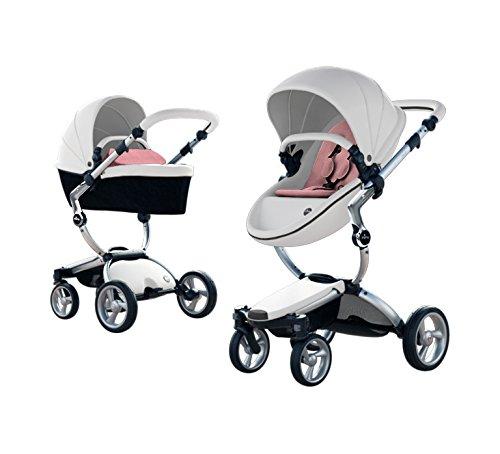 Mima Xari Stroller Authorized Seller (Aluminum Chassis, Snow White Seat, Pixel...