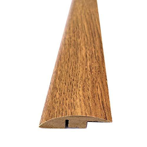 Tramp Edge tröskel dörrstång trimprofil för laminat- och trägolv (900 mm, mörk ek)