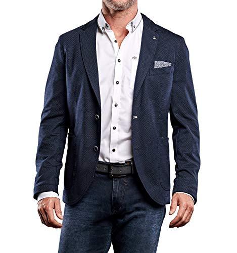 engbers Herren Freizeit-Sakko Slim fit, 27928, Blau in Größe 56