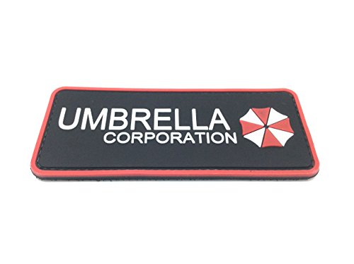 Umbrella Corporation PVC Airsoft Klett Abzeichen