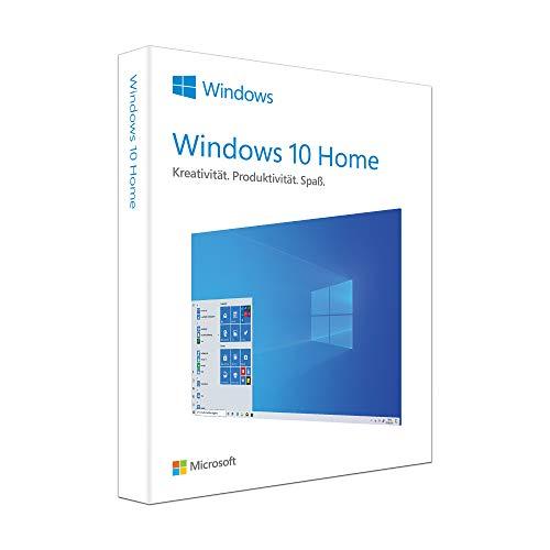 Microsoft Windows 10 Home | 1 Gerät | 1 Benutzer | PC | Aktivierungscode |Box