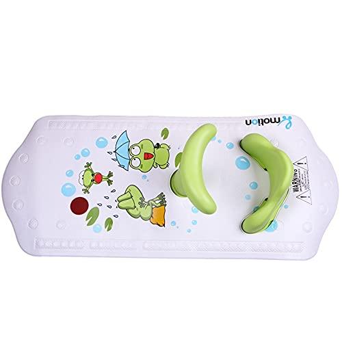 L-YINGZON Sillas de baño Matera de baño de bebé con Asiento de Ducha para bebés Asiento de Seguridad para bebés para niños con Estera Antideslizante Muebles de baño (Color : B)