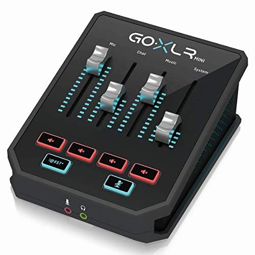 TC HELICON GO-XLR MINI MIXER ONLINE MIT AUDIO USB UND PREAMPLIFICATOR MIDAS