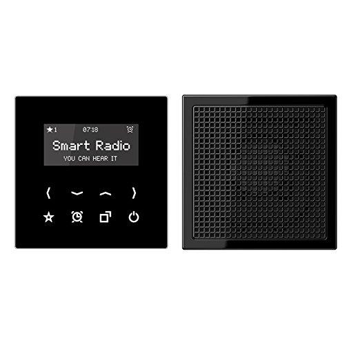 Jung Rad 918 SW Smart Radio-Set Mono Serie LS schwarz