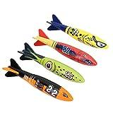 Changor Torpedo Rocket Submarino, 13 x 3.5 x 2,5 cm plástico Material de plástico Material de Juguete de Cohete