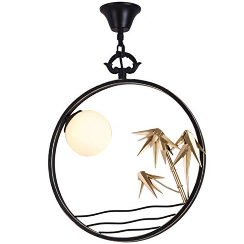 Exquisita Lámpara Lámpara, Retro Moderno de la lámpara de araña de Hierro Forjado Decorativo, Conveniente for cenar Salón Dormitorio Cafe Araña [energética A +]