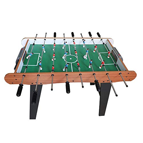 ZOUJUN Indoor Foosball ,Play Table Kids Family Soccer Ball with Legs Home Sports Fun Pub Gaming Football Table Home Puzzle Game Table