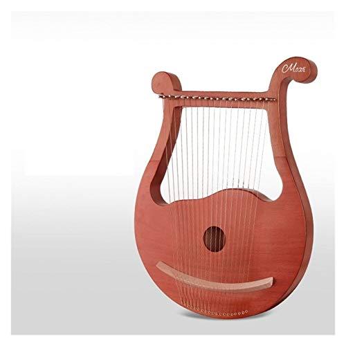 Harfe 19 String Harfe Eliya Kleine Tragbare Klavierakkord Minderheit Männer Und Frauen Anfänger 16 21 Streichinstrument Leier (Farbe : 003)