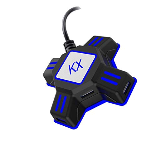 zhibeisai Teclado portátil ratón convertidor para PS3 / PS4 para Xbox uno para ratón Adaptador del Interruptor del Teclado