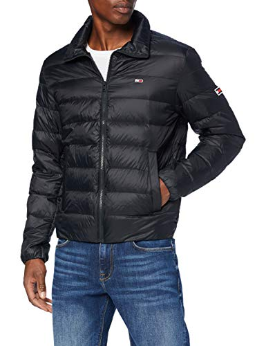 Tommy Jeans Herren TJM Packable Light Down Jacket Jacke, Schwarz (Black), X-Large