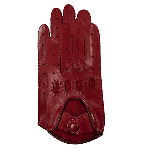 Gretchen - Handschuhe GL15 - Warm Red, Dark Rose