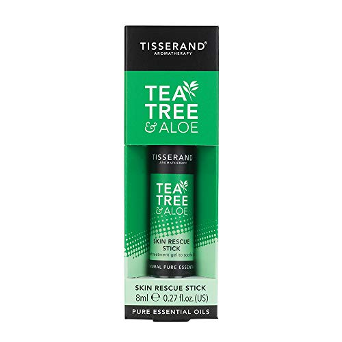 Tisserand Skin Rescue Stick Tea Tree Aloe, 8 Ml