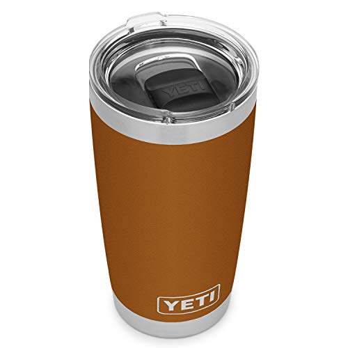 YETI Rambler 20 oz Stainless Steel Vacuum Insulated Tumbler w/MagSlider Lid, Clay