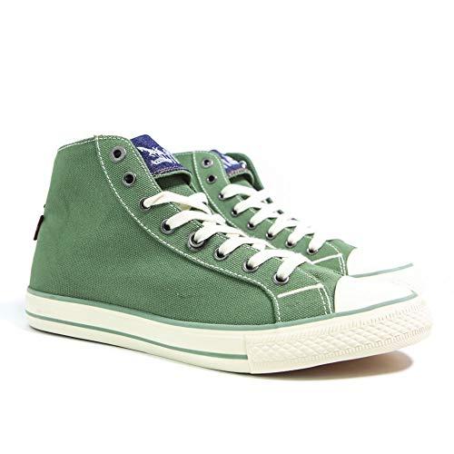 Levi's Menlo Park High Fold Lace, Herren Sneaker, Grün - grün - Größe: 44